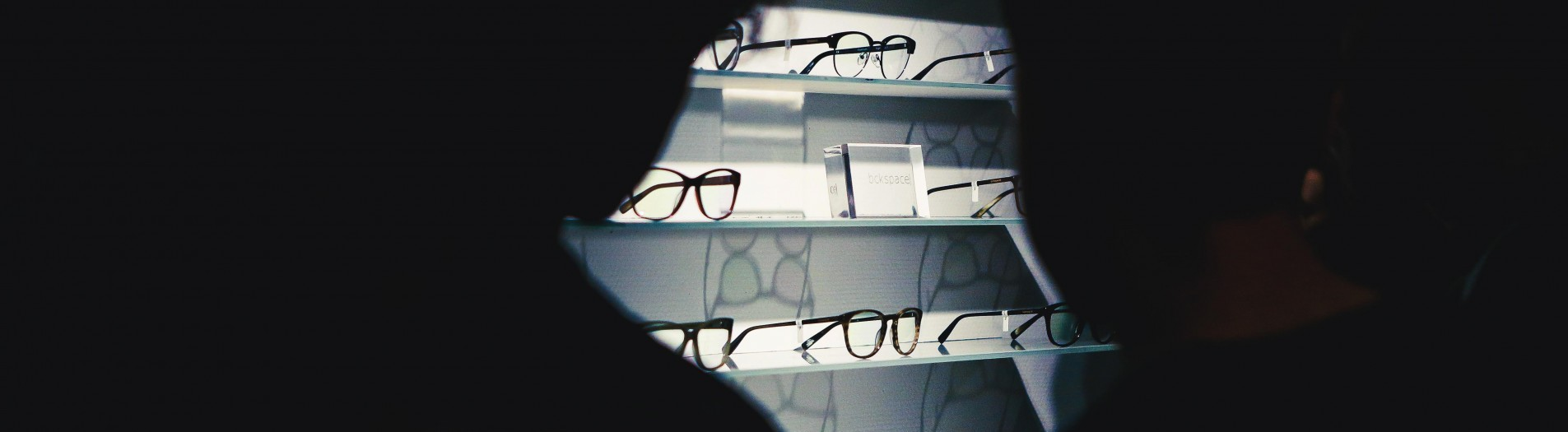 Bckspace| eyewear NY evening